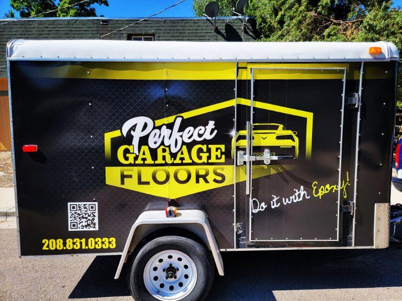 Perfect Garage Floors Trailer